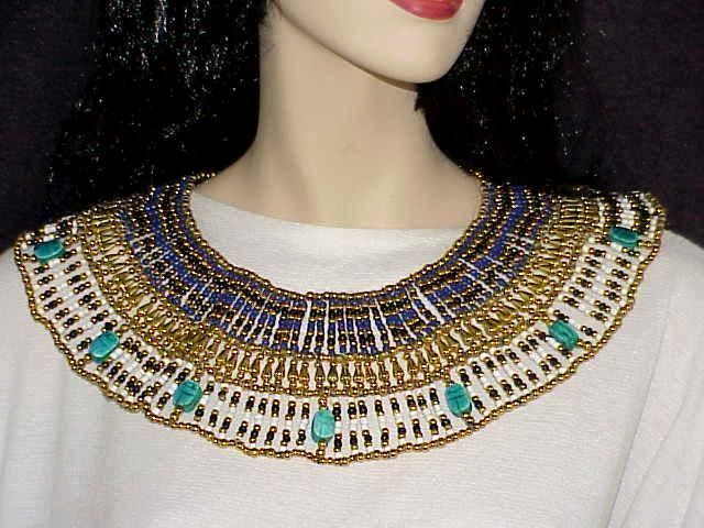... 3-Pc Halloween Costume Cleopatra Crown Necklace Belt Amethyst White Color Beads ... & 3-Pc Halloween Costume Cleopatra Crown and 18 similar items