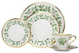 Bone Fine China 5 Piece Dining Set Place Settings Formal Wedding Gift Ho... - $123.74