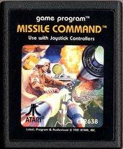 Missile Command [Atari 2600] - $23.75