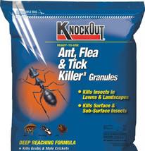 Knock Out Ant, Flea & Tick Killer Granules 10 Lbs Kills Grubs Crickets S... - $23.51