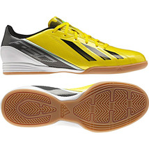 a4a2a7eed ADIDAS F10 IN INDOOR SOCCER SHOES FUTSAL YELLOW BLACK MESSI COLOR. -  69.98
