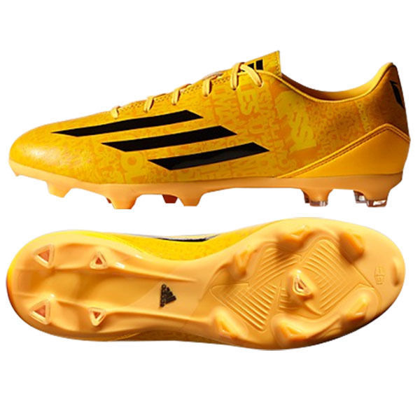 online store 199ff 717f5 ADIDAS MESSI F10 FG FIRM GROUND SOCCER SHOES Solar Gold Black Black.