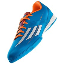 0a77a2a10 ADIDAS MESSI F10 IN INDOOR SOCCER SHOES FUTSAL SOLAR BLUE ASTROS. -  69.99