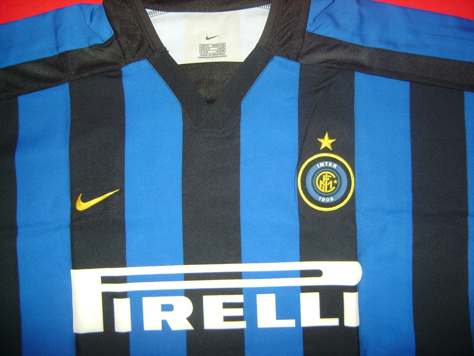 6d1186fc NIKE INTER MILAN HERNAN CRESPO HOME JERSEY FOOTBALL 2002/03 X-LARGE.