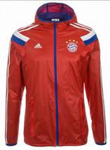 Adidas Bayern Munich Anthem Jacket 2014/15 Germany Bundesliga - $110.00