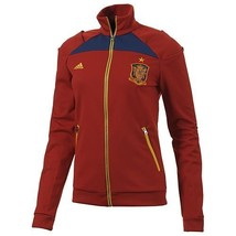 Adidas Spain Womens Track Top 2012/13 Confederations Cup Jacket EspaÑa Red. - $75.00