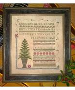 O Christmas Tree sampler Samplers Remembered - $12.60