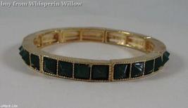 Green Pyramid Fashion Stretch Bracelet  - $16.95