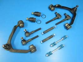 Upper Lower Ball Joint Control Arm Tie Rod Sway Bar 12 Piece KIT F150 97-04 4x4 - $172.76