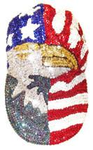 Sequin Baseball Cap USA w/Eagle - $16.50