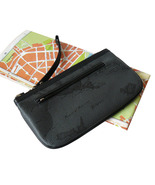 Alviero Martini 1A Classe Geo Map Black Wristle... - $50.00