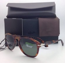Nuevas Polarizadas Gafas de Sol Persol Po 649 108/58 54-20 Café' con / C... - $361.04