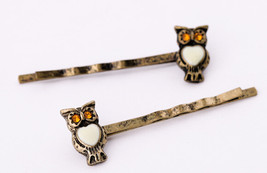 night owl hairpin women girl fashion bobby pin crystal hairpin bobby pin... - $7.99