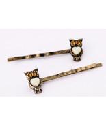 night owl hairpin women girl fashion bobby pin crystal hairpin bobby pin... - $7.99