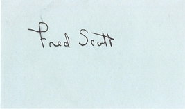 Fred Scott (1902-1991) Last Outlaw, In Old Montana, Thundering Hoofs, au... - $18.00