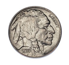 1935 5C Buffalo Nickel Choice BU Condition, Excellent Eye Appeal, Mint L... - $39.59