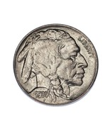 1935 5C Buffalo Nickel Choice BU Condition, Excellent Eye Appeal, Mint L... - €36,65 EUR