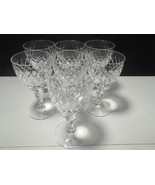 """7 ROYAL BRIERLEY COVENTRY 5 1/4"""" WINE GLASS'S~~~very rare - $69.99"""