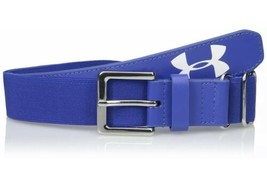 Under Armour Boys Baseball Belt Royal Royal One Size 1252085 400 Brand New - $19.80