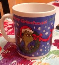 30 Oz. Hallmark Dr Seuss Happy Who Year Merry Grinchmas Grinch Christmas... - $25.73