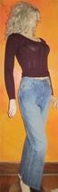 Lauren Jeans Co $120 Premium Blue Denim Jeans 8 - $54.00