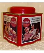 Vintage 1992 Advertising Tin Collectible Base... - $7.00