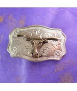 Men's Buckle Vintage Texas Long Horn Steer Country Western Unisex Belt A... - $55.00