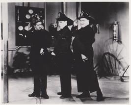 3 Stooges Firemen Moe Larry Curly QP Vintage 8X10 BW TV Memorabilia Photo - $6.99