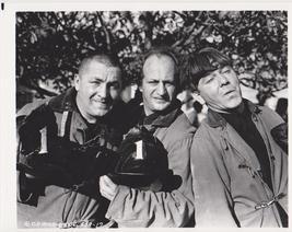 3 Stooges Firemen #1 Moe Larry Curly 51 Vintage 11X14 BW TV Memorabilia Photo - $12.95