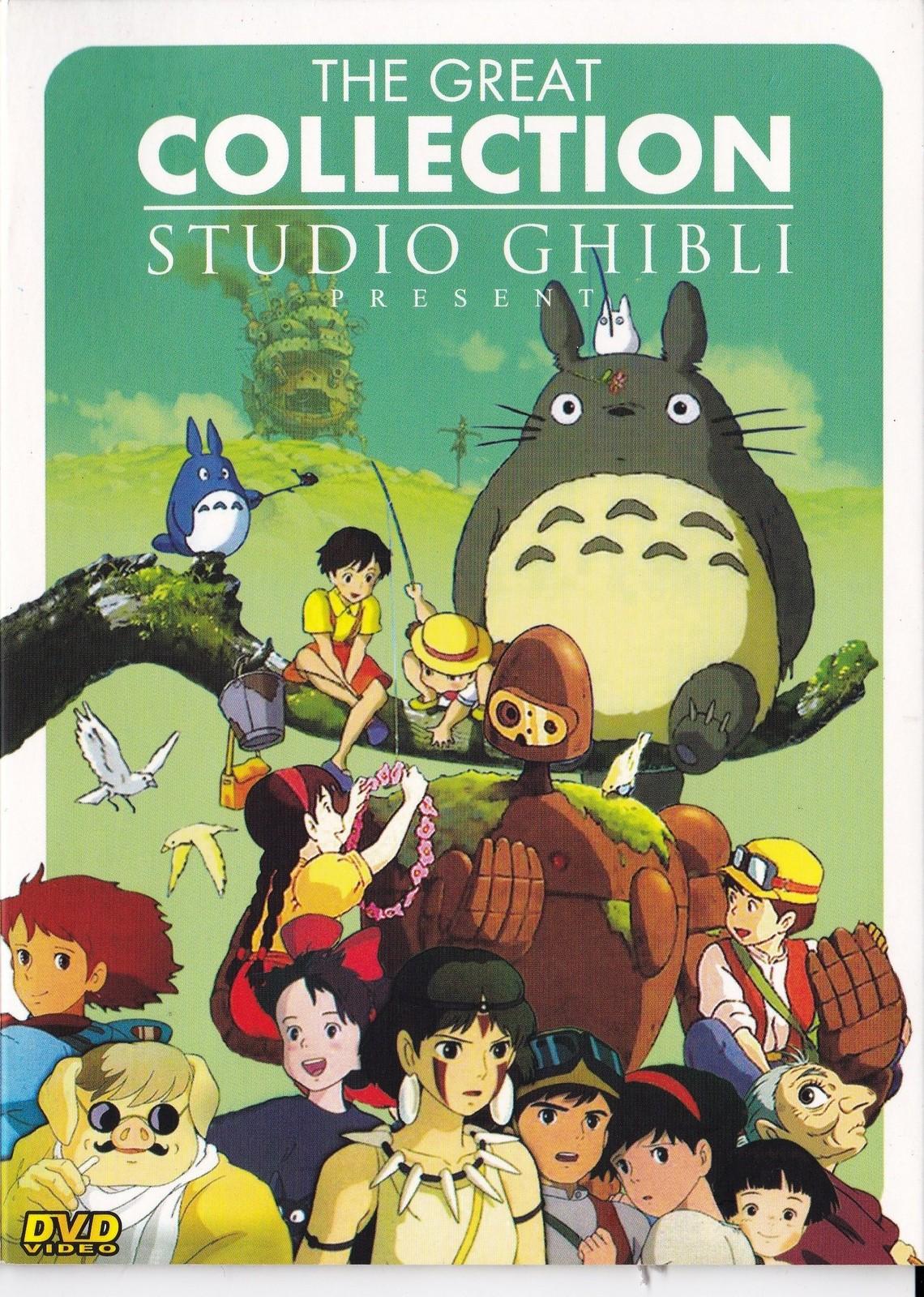 Studio Ghibli Dvd Collection