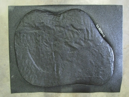 "Giant Fieldstone Stepping Stone Mold 24""x32""x2"" Make Concrete Wall Rock #GS24322 image 3"