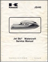 1977-1981 Kawasaki Jet Ski JS440 Watercraft Service Repair Manual CD   -  JS 440 - $12.00