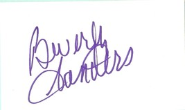 Beverly Sanders, ...And Justice for All, Rhoda, C.P.O. Sharkey, autograph - $8.00