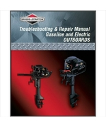 Briggs & Stratton 5 HP Outboard Motor Service Repair Manual CD - $12.00