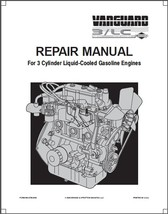 Briggs & Stratton Vanguard 3/LC 3-Cyl Engine Service Repair Manual CD - $12.00