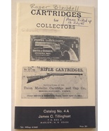Cartridges Collectors Tillinghast catalog 4A June 1965 ammo vintage antique - $9.99
