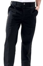 Dickies Black Chef Pants Zipper Front Professional Chefs D2 Wear CW050304 New - $24.72