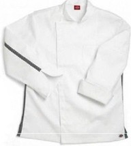 Dickies Executive Chef Coat White Checkered Trim CW070301 Size 50 Disc S... - $24.47
