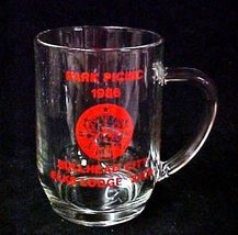 Elks Lodge No 2408 Bullhead City Park Picnic 1986 BPOE Glass Mug image 2