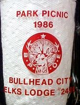 Elks Lodge No 2408 Bullhead City Park Picnic 1986 BPOE Glass Mug image 5