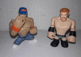 """WWE Rumblers John Cena and Sheamus Mattel 2"""" Lot of 2 Figures 2010 - $3.47"""