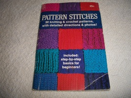 Pattern Stitches: 90 Knitting & Crochet Patterns - $7.00