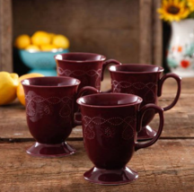The Pioneer Woman Cowgirl Lace 4-Piece Mug Set - $19.90