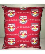 RedBulls Pillow New York Red Bulls Pillow NY RedBull MLS Handmade in USA... - $9.97