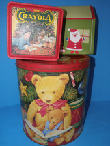 "Popcorn  Tin ~ Large Round ~ Vintage Collectible Tin 11"" Plus 2 Additional Tins - $14.01"