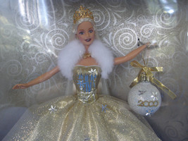 "BARBIE 2000 Holiday Celebration Special Edition NRFB-JUST ""STUNNING"" - $18.69"
