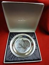 Sterling Silver Plate with Ruffled Grouse by National Audubon Society - $169.15