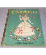 Walt Disney Cinderella Little Golden Book D114 - $5.95