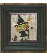 Broom Witch Mousie Spooky Spinners series cross stitch chart Bent Creek  - $6.75