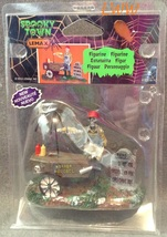 Halloween Lemax Spooky Town Village Ghoul Hot Dog Vendor Accessory Figure  image 2